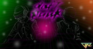 . daft punk . by dongin