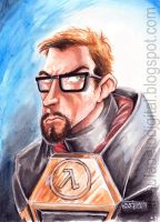 Gordon Freeman by RV5T3M
