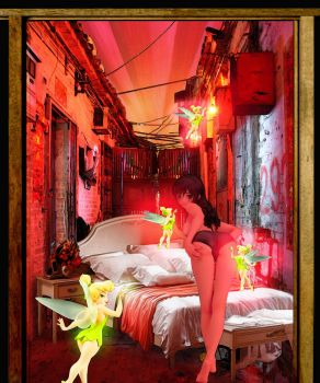 DIRTY ALLEY'S BEDROOM by kenjin1