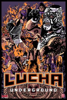 Lucha Underground by wild7even