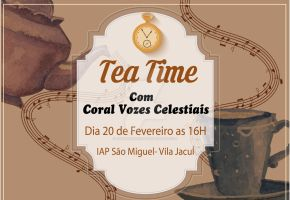 Tea time - coral by janineManfrin