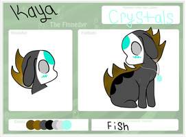 Kaya the Finnedyr by ShyBugg