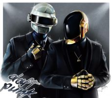 Daft Punk by RattledMachine