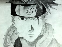Kakashi's sketch by oOJohnOo