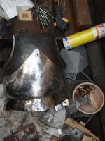 Test result of grinding lower part of breastplate  by SindahlEjlersen