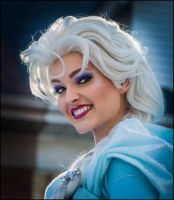 Elsa The Ice Queen by Lymanjames