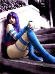 Psylocke Cosplay by MaryMagika