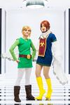 Wind Waker: Link and Medli by MangoSirene