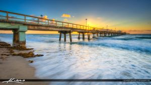 Anglins-Fishing-Pier-at-Lauderdale-by-the-Sea-Duri by CaptainKimo