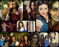 Rumbelle Cosplay: Skin Deep by tonksiford