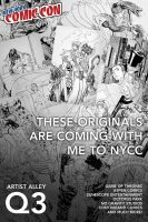 NYCC 2015 ad by cehnot