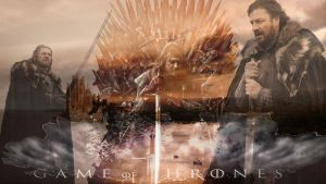 Ned Stark Wallpaper by IamDaenerysTargaryen