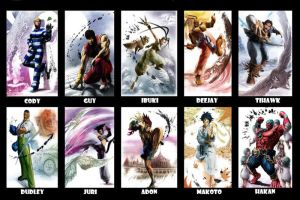 Super Street Fighter 4 All by nuckleheaded