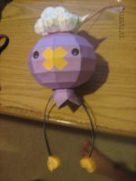 Drifloon papercraft by NinjaKirby144