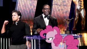 Pinkie Pie Unimpressed Over Brad Maddox Triumph by RicRobinCagnaan