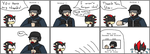 Shadow the Hedgehog Comic 1 by LeafGreen1924