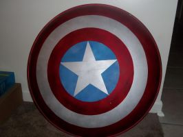 Captain America Shield by Bluebird0020