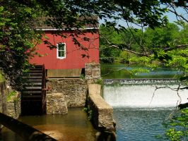 Red Mill 6 by Dracoart-Stock
