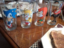 sonic the hedgehog deluxe cup set by sonicfan40