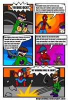 Spidey is a primrose popinjay by Bogswallop