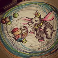 I want to meet Dumbo by TamiTw