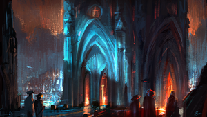 Cathedral by Adam-Varga