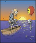 Fish suicide by Abbor