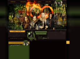 Layout { THE 100 } by PixxLussy
