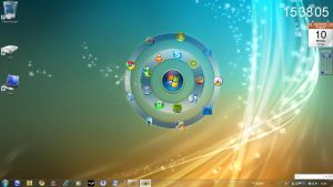 Windows Vista 7 Circledock by strooeem