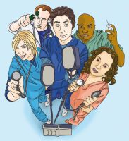 Scrubs Peeps by wiccawitch