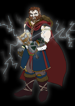 Thor, son of Odin by saintfighteraqua