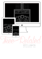 City Lights_FREE WALLPAPER by GreenTeawithMilk
