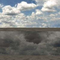 SKYDOME HEAVY-SUNNY CLOUDS by FilorNotAlwaysMe