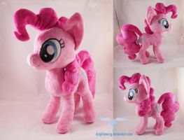 Pinkie Pie Plushie 2.0 by dollphinwing