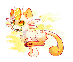 Meowth by Pand-ASS