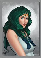 Sailor Neptune by riordan-j-flynn