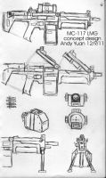 MC-117 LMG concept design by c-force