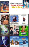 My Top 10 Favorite Robin Willaims Movies by Toongirl18