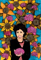 Ruby Wax by AnalieKate