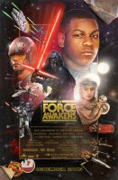 The Force Awakens Poster (Version A) Small by Love-Carmichael