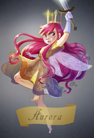 Aurora by Child of Light by comicgirl91