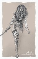 Adult Ciri by JustAnoR