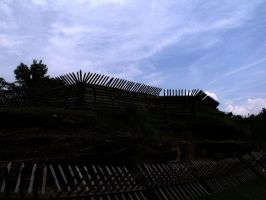 Ramparts against the Sky by MorganCG