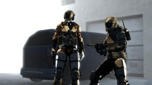 BLR Female Operators Release! by SuperNinjaNub