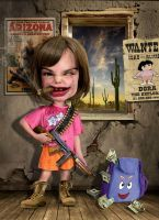 Dora the explorer on steroids by funkwood