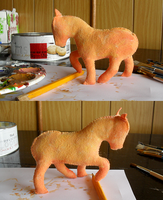 Apples Horsie WIP by Voodoo-Tiki