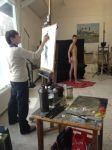 Live art model by Deskriuwer