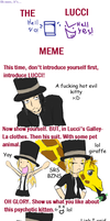 OP - The Lucci meme by Rosey-Raven