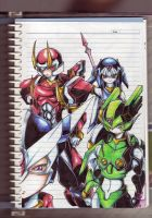 The Four Generals by henya66