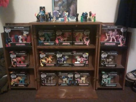 My MLP collection. by MetalPony23
